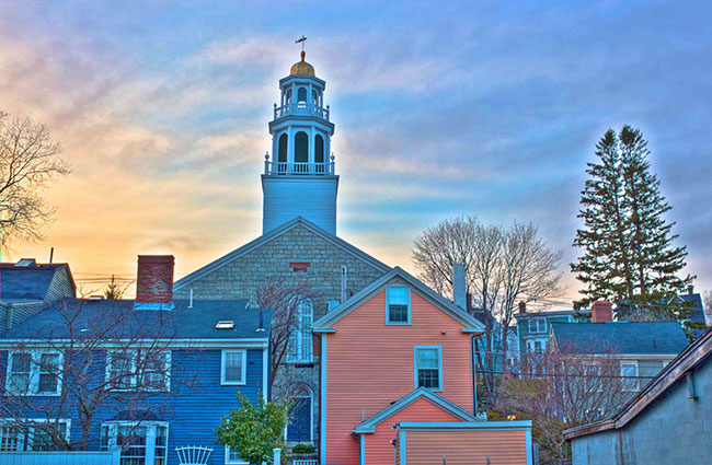 Marblehead's Old North  Church - Copywright 2015 Mike Porter